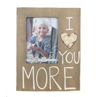 I Love You More Frame