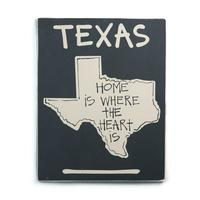 State of Texas Home Sign