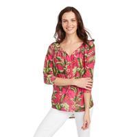 Tommy Bahama Women's Jardin Tassel Shirt