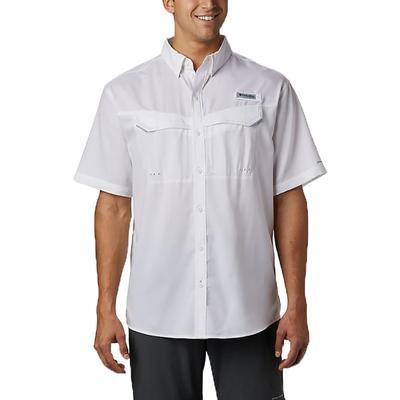 Columbia Men's PFG Low Drag Offshore Short Sleeve Shirt 100WHITE