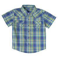 Wrangler Boy's Plaid Snap Shirt