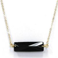 Bar Stone Necklace
