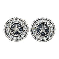Montana Silversmiths's Star Concho Earring
