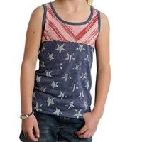 Roper Girl's Stars and Stripes Tank