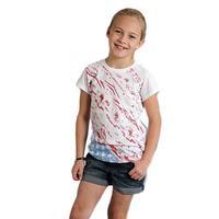 Roper Girl's Aztec Flag Print T-Shirt