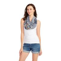 Tommy Bahama Ladies Mix Print Infinity Scarf