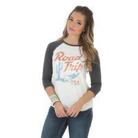 Wrangler Women's Raglan Road Trip T-Shirt