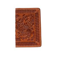 3D Men's Natural Card Holder Wallet