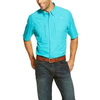 Ariat Men's Bright Sky Shortsleeve Venttek Shirt
