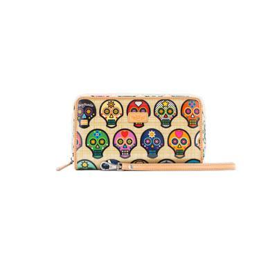 Consuela Sugar Skull Wristlet Wallet