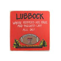 Texas Tech Tailgate Sign