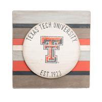 Texas Tech Vintage Striped Board