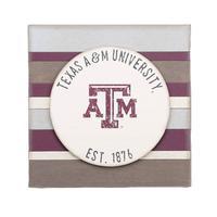 Texas A&M Vintage Striped Board