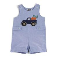 Mud Pie Toddler's Carrot Truck Shortall