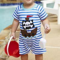 Mud Pie Infant Boy's Pirate Onesie