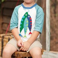 Mud Pie Boy's Fish T-Shirt