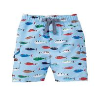 Mud Pie Boy's Fish Swim Trunks