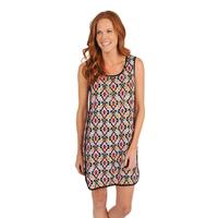 Uncle Frank Women's Aztec Sleeveless Tunic