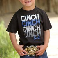 Cinch Toddler's Black Logo T-Shirt