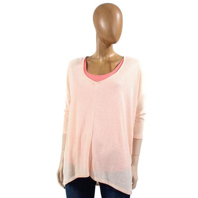 Angie Ladies Raven 3/4 Sleeve T2 Top PEACH