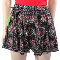 Angie Ladies Flower Print Loose Fit Shorts