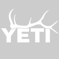 Yeti Elk Antler Decal
