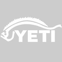 Yeti Flounder Decal