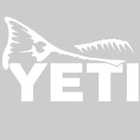 Yeti Redfish Tail Decal