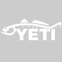 Yeti Trout Decal