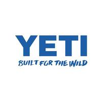 Yeti Built for the Wild Blue Decal