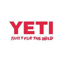 Yeti Built for the Wild Red Decal