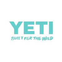 Yeti Built for the Wild Seafoam Decal
