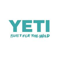 Yeti Built for the Wild Teal Decal
