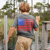Southern Marsh Boy's Vintage Flag Shirt
