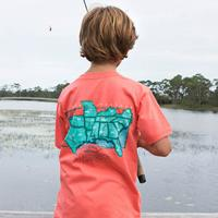 Southern Marsh Boy's South River Routes T-Shirt