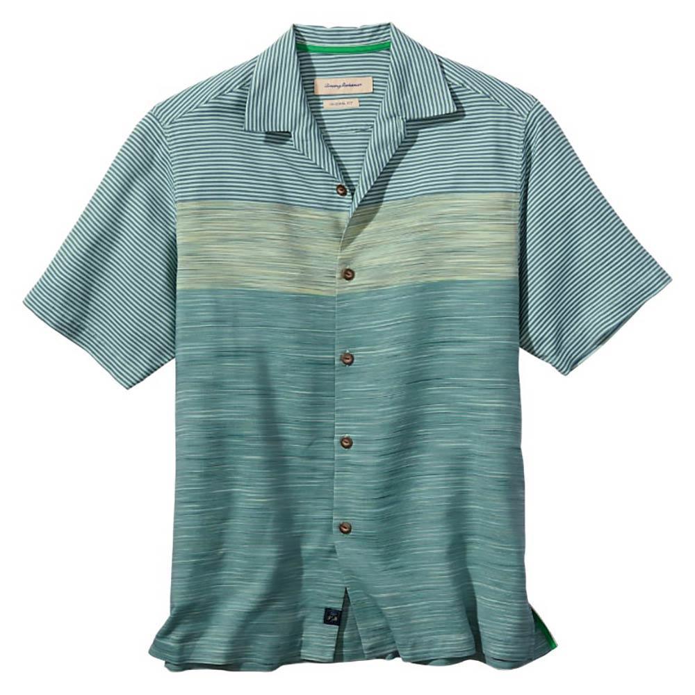 Tommy bahama men 39 s short sleeve horizon haze shirt for Where to buy tommy bahama shirts