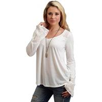 Stetson Women's Knit Peasant Top