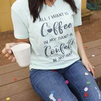 ATX Mafia Women's Coffee In My Hand T-Shirt