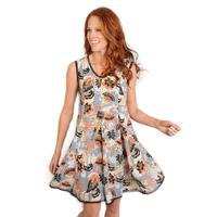 Uncle Frank Women's Print Sleeveless Dress