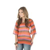 Wrangler Women's Rock 47 Flutter Sleeve Top