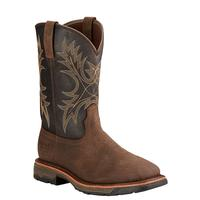 Ariat Men's Workhog Square Toe Bruin and Coffee Boots