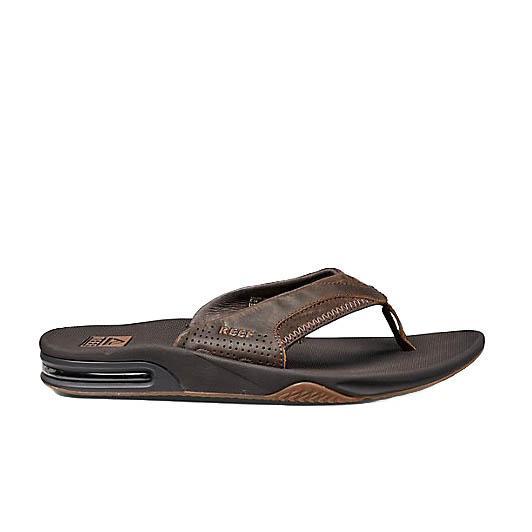 52823e8da88 Reef Men s Leather Fanning Sandals