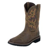 Justin Men's Rugged Stampede Steel Toe Work Boots
