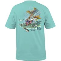 Salt Life Men's Snook Explosion T-Shirt