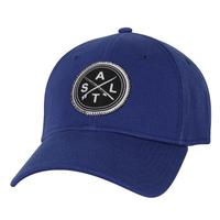 Salt Life Men's Stacked Stretchfit Cap