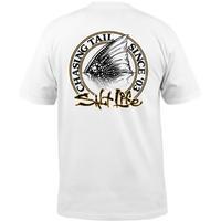Salt Life Men's Chasing Tails Pocket T-Shirt