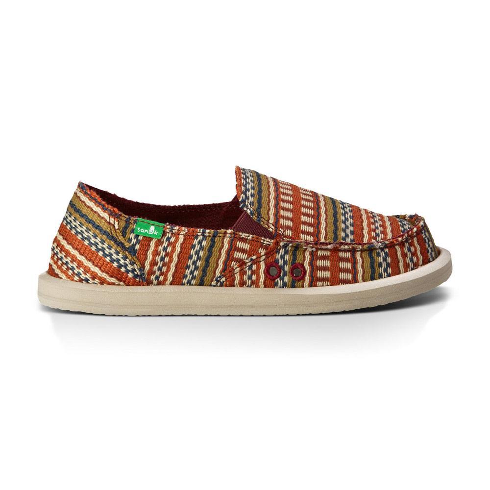 official photos b10a5 e2075 Sanuk Womens Donna Blanket Shoes