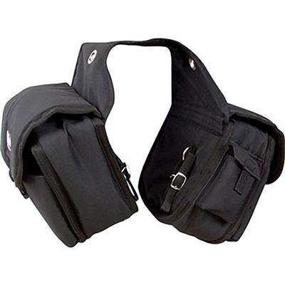 Cashel Medium Multi-Pocket Rear Saddle Bag BLK