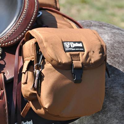 Cashel Medium Multi-Pocket Rear Saddle Bag BRN