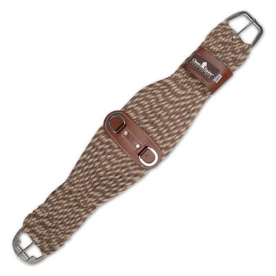 Classic Equine Alpaca and Mohair Roper Cinch BR/TN